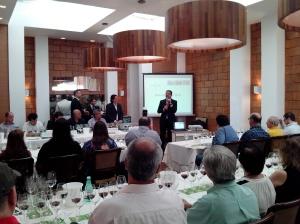 Fala de Oscar Gamboa, Diretor da Comercial da Representação Diplomática Chilena no Brasil.